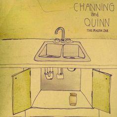 Channing & Quinn - Mason Jar, Black
