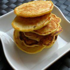 Pancakes al cipollotto #pancakes #snack