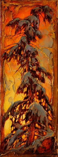 too tired David Langevin Forest Painting, Winter Painting, Landscape Art, Landscape Paintings, Tree Paintings, Canadian Artists, Canadian Painters, Acrylic Art, Tree Art