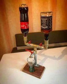 Homemade Jack&Coke Mixer/Dispenser