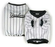 cfe31c38f New York Yankees Alternate Style Dog Jersey - CLEARANCE! Only Med, Lg, & XL  remaining! Dress your dog just like the pros with a New York Yankees dog  jersey!