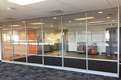 A recent installation of #Altos Walls to separate the staff break area from the workstations! For more information on glass wall systems call Chase Office Interiors at: 1-877-922-0118