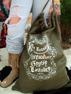 threadbare gypsy laundry bag