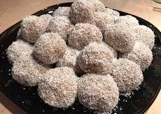 Zabpelyhes kókuszgolyó recept foto Krispie Treats, Rice Krispies, Ale, Muffin, Low Carb, Sugar, Snacks, Breakfast, Food