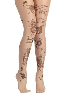 You've Got Characters Tights, #ModCloth