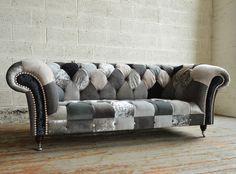 Classic chesterfield sofa - ACHILLE MAXDIVANI - Max Divani Maxdivani ...