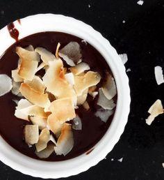 Coconut Milk + Chocolate Pots de Creme