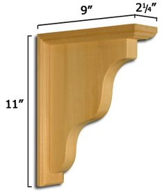 these are the corbels we have if we want to match exactly....