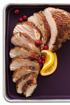 Roasting a single turkey breast is a great way to cut down on all-day cooking. Epicure Recipes, Cooking Recipes, Turkey Recipes, Fall Recipes, Epicure Steamer, Roast Turkey Breast, Steamer Recipes, Good Food, Yummy Food
