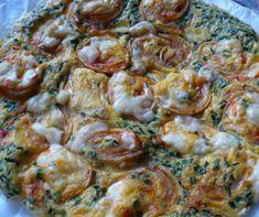 frittata receptek, cikkek | Mindmegette.hu Frittata, Sprouts, Chicken, Meat, Vegetables, Food, Vegetable Recipes, Eten, Veggie Food