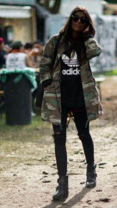 280d6ccca4d  coat  camoflauge  jacket  street style  fashion Camoflauge Jacket Outfit