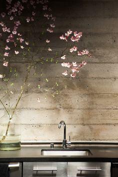 Nicole Hollis — Interior Designer, Office/Studio, San Fransisco, CA. San Fransisco, Interior Architecture, Interior And Exterior, Interior Design, Dinning Room Bar, Dining, Concrete Kitchen, Concrete Bathroom, Slider