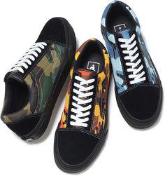 "Supreme x Vans ""Camo"" Pack: Old Skool & Sk8-Mid"