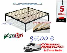 Rete matrimoniale 5 anni di garanzia prodotto di qualità a soli 95,00€ consegna gratuita in tutta Italia + omaggio su ogni acquisto