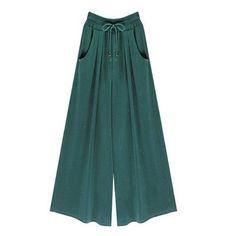 2017 Summer Plus Size M-4XL 5XL 6XL Women Casual Loose Harem Pants Wide Leg Palazzo Culottes Stretch Trouser Female Clothing
