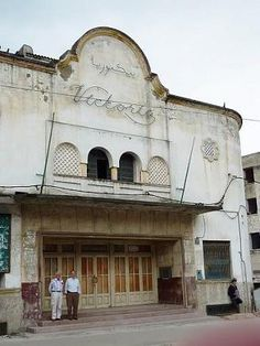 Antiguo Cine Victoria, Barrio Málaga, Tetuán, Marruecos