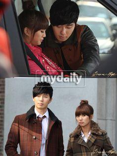 """Dream High 2"" Hyorin and Park Seojun couple."