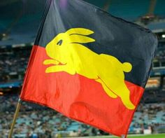 South Sydney Rabbitohs Aboriginal Koori Flag