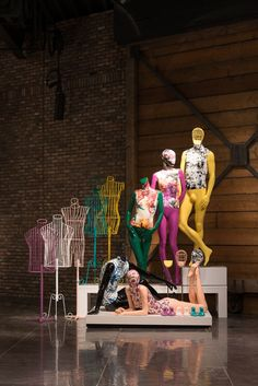 (A través de CASA REINAL) >>>>  Showroom Hans Boodt Mannequins   Zwijndrecht, The Netherlands   The 2015 collection  