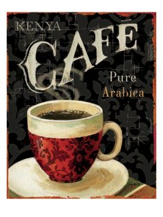 Today's Coffee I Giclee Print by Lisa Audit at Art.com