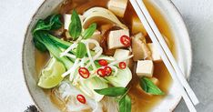 Everyone's favourite Vietnamese soup – pho– is now vegetarian and is just as soul-soothing as the beef version.