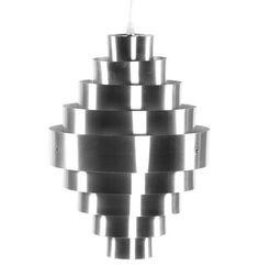 Stylish, Modern & Contemporary Hanging Lamps at affordable prices; Stylish Sauce – Contemporary Chrome Kokoon Aztek hanging lamp.
