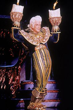 Broadway Beauty and the Beast - Lumiere. My favorite costume from any show ever.