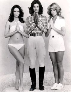 superseventies:    Charlie's Angels, 1976.    (via imgTumble)