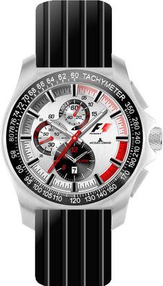 6c7a03747ac Jacques Lemans Watch F1 F-5015C GP Chrono NOW 30% OFF