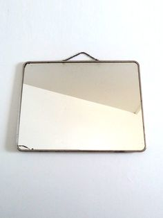 Large Mid Century Barber Mirror  French Vintage 50s by BrocAndPop