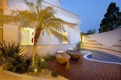 Construindo Minha Casa Clean: 12 Varandas Modernas com Piscinas e Pergolados! #deck #piscina #jardim