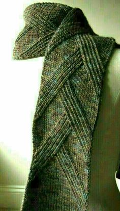 Free knitting pattern for Rippenschal Ribbed Scarf and more cozy scarf knitting . : Free knitting pattern for Rippenschal Ribbed Scarf and more cozy scarf knitting patterns Knitting Stitches, Knitting Patterns Free, Knitting Yarn, Knit Patterns, Free Knitting, Free Pattern, Mens Scarf Knitting Pattern, Mens Knitted Scarf, Knit Or Crochet