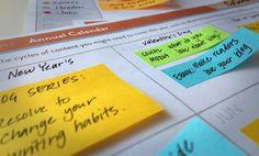 Content Marketing Editorial Calendar #content #contenu
