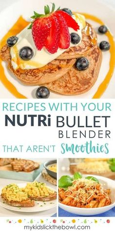 Smoothie Recipes Nutribullet Recipes - Blender recipes for kids that are healthy easy ideas and that aren't just traditional smoothies! - Blender recipes for kids and families that are healthy easy ideas and that aren't just traditional smoothies! Kids Cooking Recipes, Gourmet Recipes, Kids Meals, Easy Cooking, Cooking Oil, Cooking Pasta, Cooking Games, Cooking Utensils, Magic Bullet Recipes