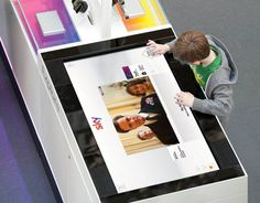 Interactive Sales Tool Sky Media Adobe Air Touch Screen