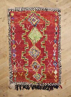 Moroccan Boucherouite Rug - Mili Designs NYC
