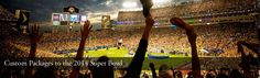 2014 Super Bowl Packages, Tours, Tickets in New York  MetLife Stadium, New York and New Jersey January 30 - February 3 Ideally located first class hotels in Manhattan • Your choice of tickets anywhere in MetLife Stadium • Roundtrip game day transfers • Roadtrips On-Site Hosts throughout your stay • Add Super Bowl parties and/or other NFL events • Custom packages from $5,995/person (based on double occupancy)  taylormadetravel142@gmail.com  call 828-475-6227