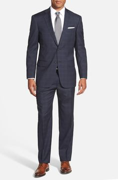 Hart Schaffner Marx Classic Fit Plaid Stretch Wool Suit Eastbay Really Online Clearance Store For Sale Cheap x1C8U