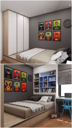 10 cool and stylish boys bedroom ideas you must watch - Decoracion dormitorios juveniles masculinos ...
