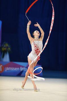 Malitina Stanuta, Belarus; World Cup, Minsk 2014 #rhythmic_gymnastics