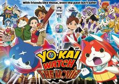 the first English-language film based on the global phenomenon YO-KAI WATCH, will be in select theaters for one day on Saturday, October 15 only. The film, which features the voice talent of the hi...