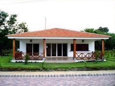 na dream House Village House Design, Village Houses, Best House Plans, Dream House Plans, Dream Home Design, My Dream Home, Bungalows, Style At Home, Cute House