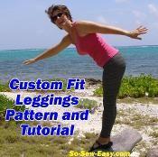 Custom Fit Leggings - via @Craftsy