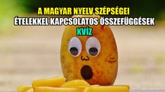 A magyar nyelv szépségei, ételekkel kapcsolatos összefüggések KVÍZ #címlap #Kvízek #ételekkel_kapcsolatos_szavak Pineapple, Fruit, Food, Pine Apple, Essen, Meals, Yemek, Eten