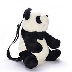 Lazada Peluche Panda Enfant Sac à dos Sacs à Bandoulière Scolaire 30cm Sac  Porté Épaule, a5b08f50418b