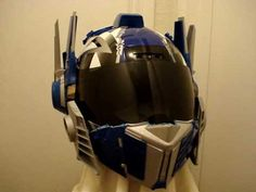 Look at this Helmets article we just blogged at http://motorcycles.classiccruiser.com/helmets/optimus-prime-transformers-custom-motorcycle-helmet/