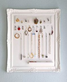 The perfect way to store and display your jewelry. Also makes a great gift! ∙ CLICK TO CUSTOMIZE AND ORDER ∙