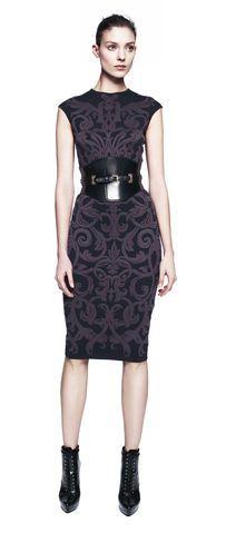 Alexander McQueen Baroque Dress