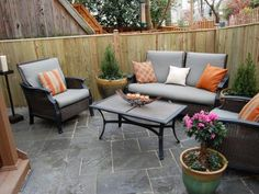 Find ideas and inspiration for creating beautiful outdoor living spaces.