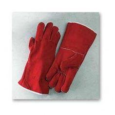 Guantes serraje soldador Guantes serraje de soldador. Certificación: EN 388, EN 420, EN 407 (Abrasión 4, Corte 2, Desgarro 4, Perforación 4). Comportamiento al fuego 4, Calor por contacto 1, pequeñas salpicaduras de metal fundido 4. Color: Rojo Talla: 10